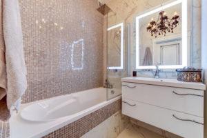 интерьер ванны мозаика