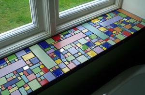 мозаика +в интерьере кухни