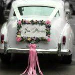 украшение машины на свадьбу +своими руками пошагово