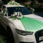 украшение на машину на свадьбу недорого